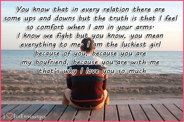 Paragraphs for Boyfriend or Husband to Show How Much You Love Him
