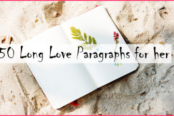 50 Long Love Paragraphs for her