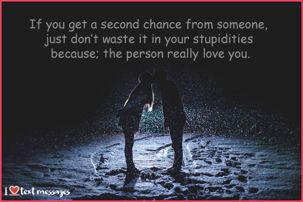 Second Chance Quotes in a Relationship