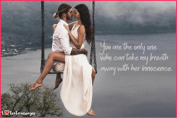 Romantic Love Pictures with Messages for Her