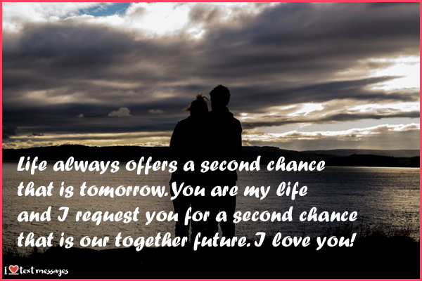 Second Chance Sayings for Wife