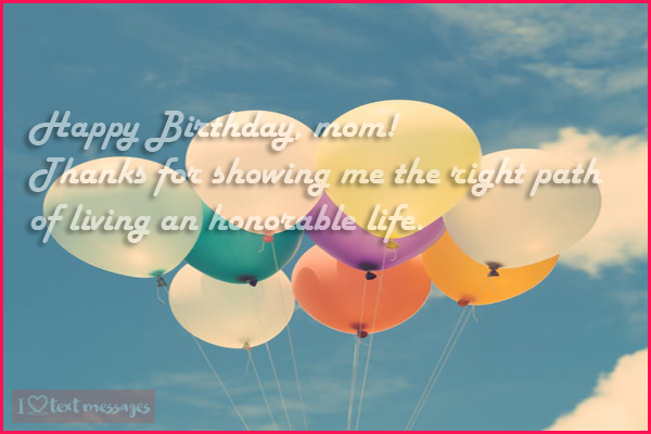 Happy Birthday Mom from Son Quotes