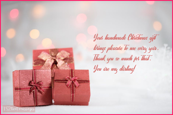 Perfect Thank You Messages for a Gift Received on Christmas
